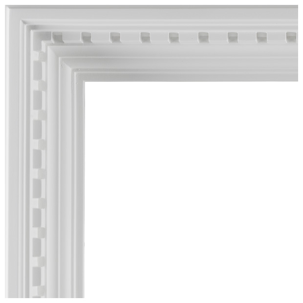 Dentil Coffer: Paint Grade
