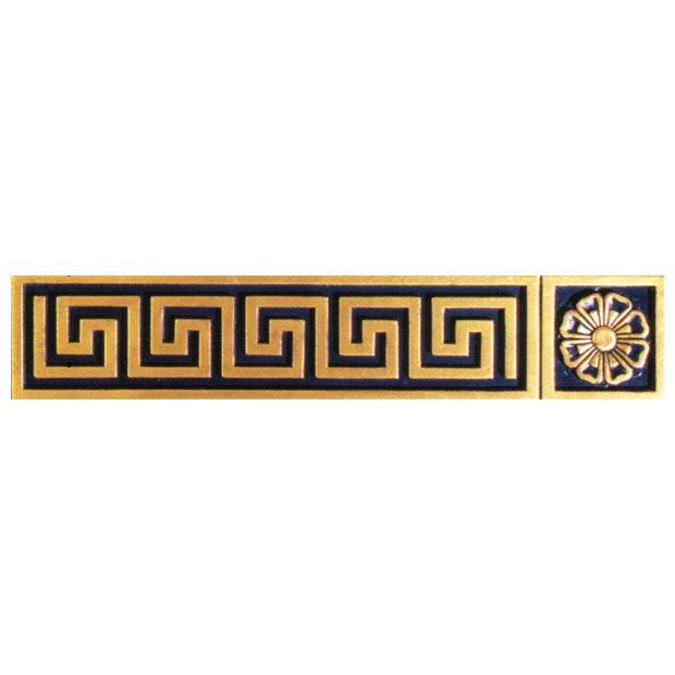 Baroque Greek Grid Cover
